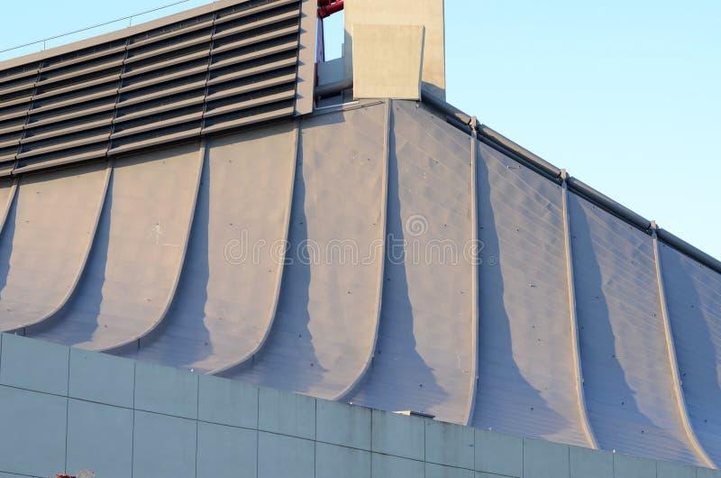 Facade Of Yoyogi National Gymnasium Tokyo Japan Stock