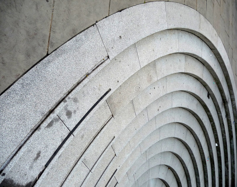 Curve Stairs Royalty Free Stock Image