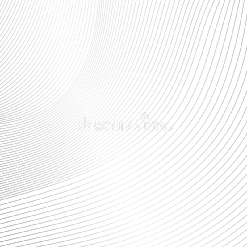 Curve stripes white texture background. Abstract curve stripes white texture background royalty free illustration