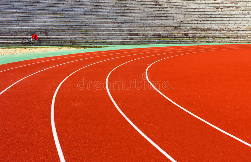Download Curve in track stock image. Image of exercise, colorful - 12968035