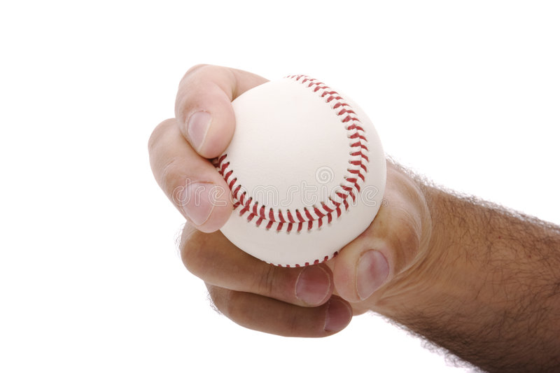 Download Curveball Grip Stock Photo - Image: 9298280