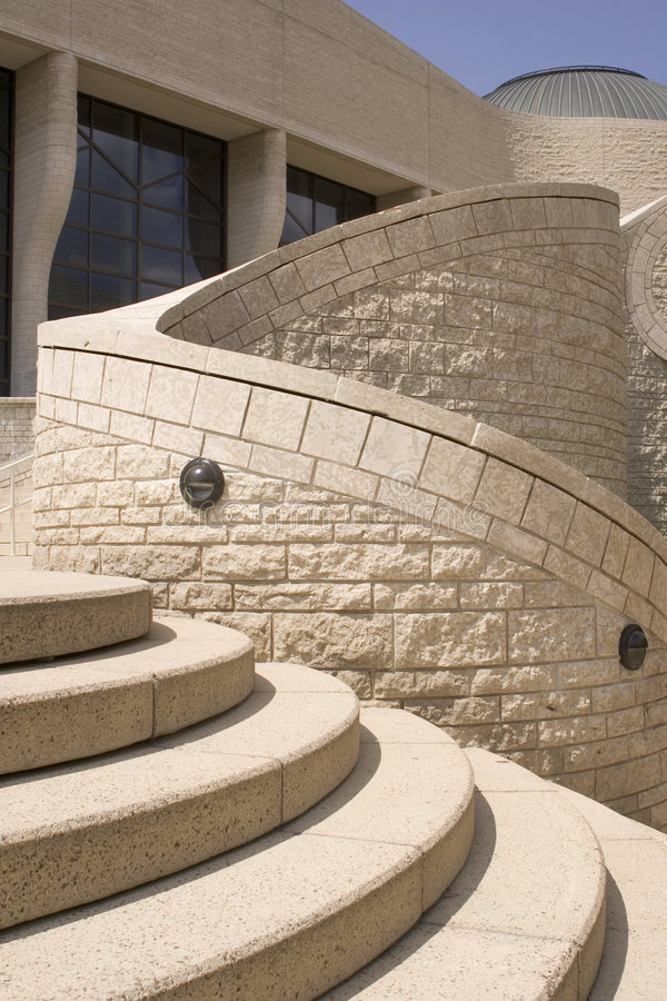 Free Curved Architecture Royalty Free Stock Photography - 466537