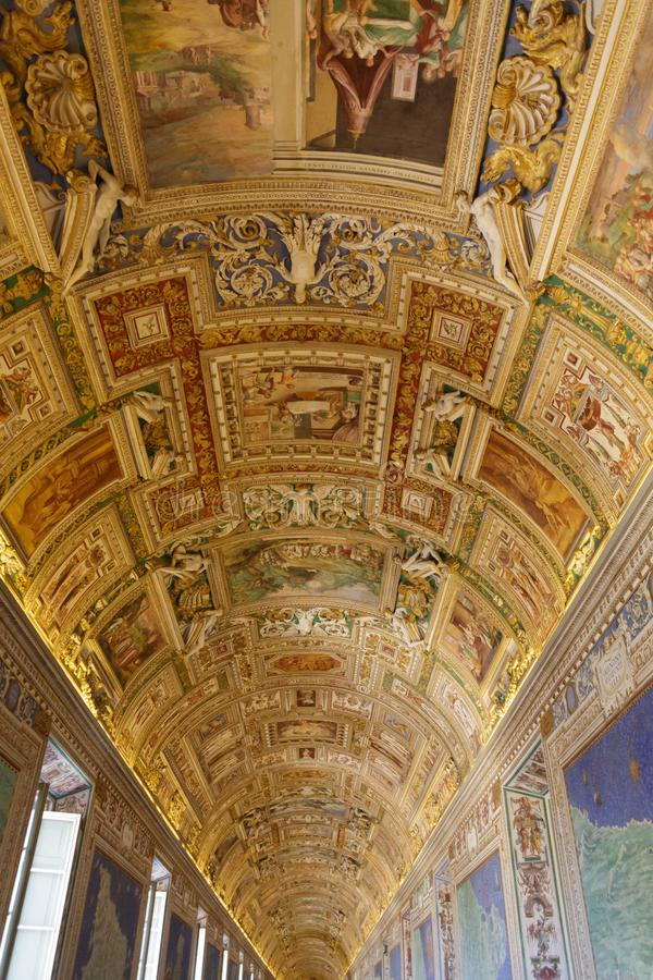 Download Curved Ceiling On Vatican Museum Editorial Photo   Image Of  Sculpture, Religion: 113016451