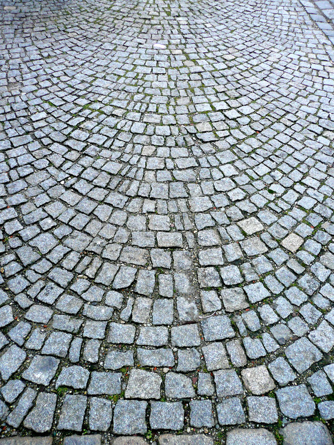 Free Curved Cobbles Stock Images - 14356604