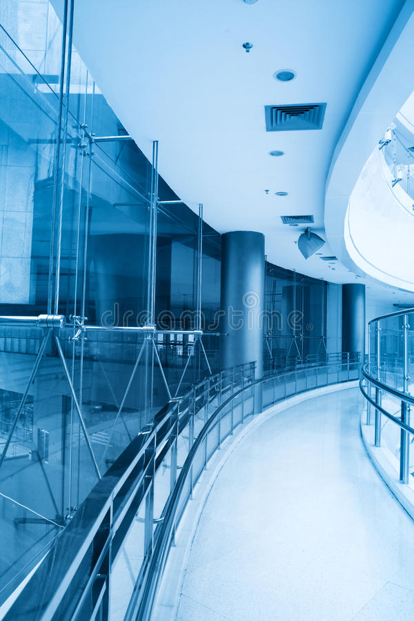 Download Curved corridor stock image. Image of detail, indoor - 20027081