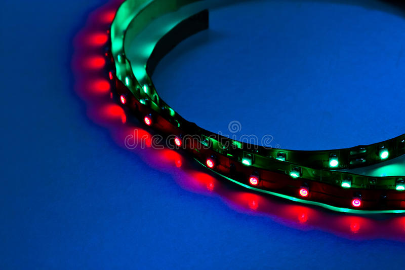 Download Curved in frame LED Lights stock image. Image of colour - 23473499
