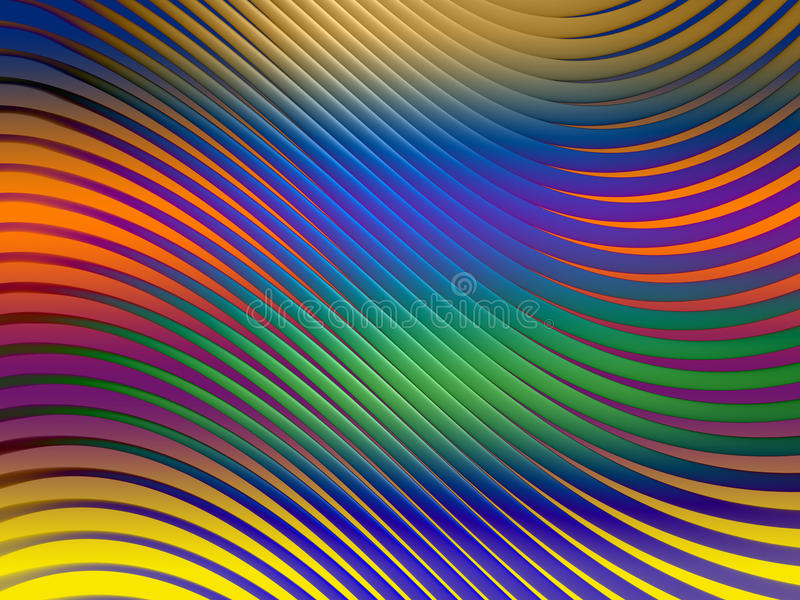 Download Curved Line Screen stock illustration. Image of decorative - 22652191