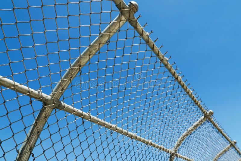Download Curved mesh fence stock image. Image of link, grid, border - 26624661