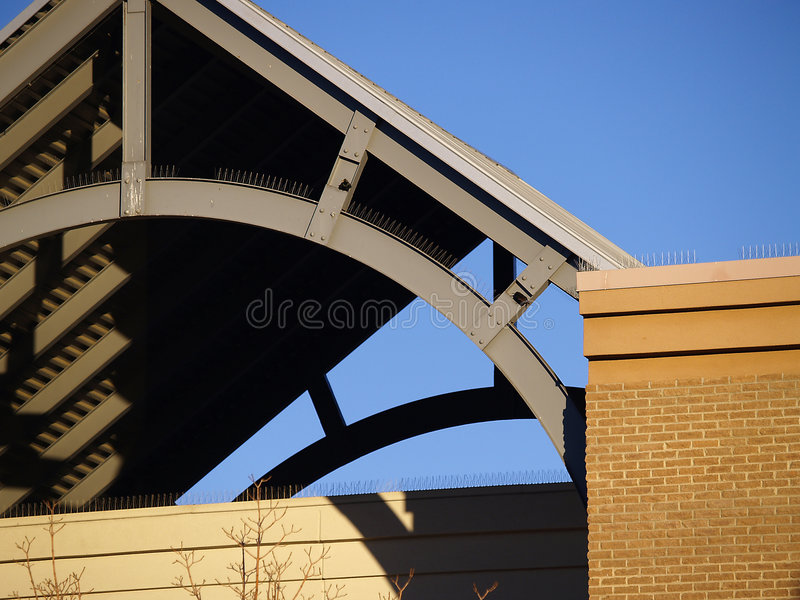 Download Curved Roof Support Stock Image. Image Of Design, Beam   4194689
