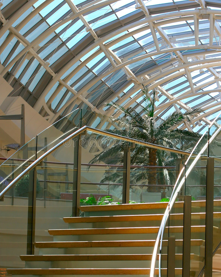 Download Curved Stairway stock photo. Image of mall, millenia, stairway - 313424