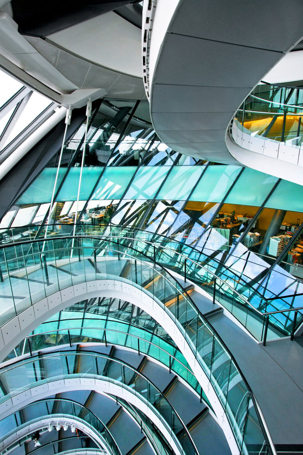 Free Curved Stairway Stock Image - 7745451