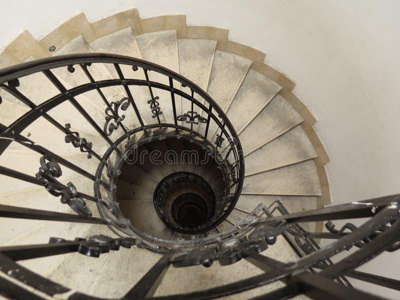 Curved stairways stock photos