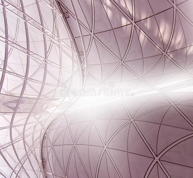 Download Curved Structure stock photo. Image of interior, geometry - 25884082