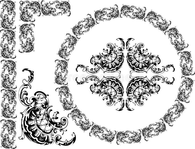 Curves Clipart vector illustration