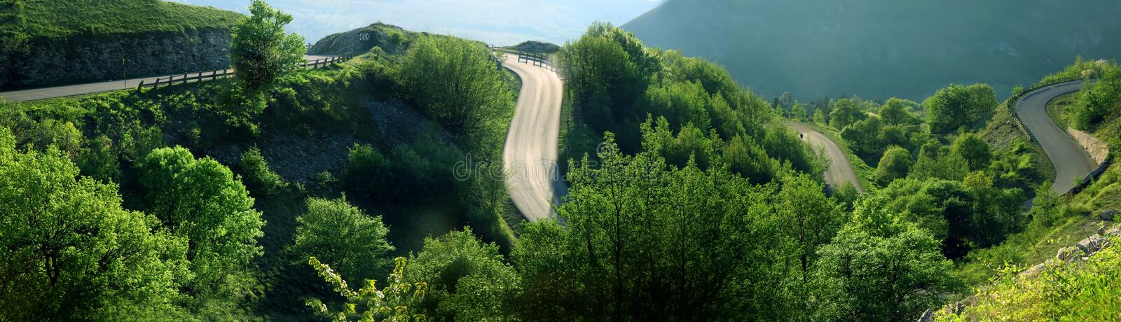 Download Curves Of Mountain Stock Images - Image: 7347204