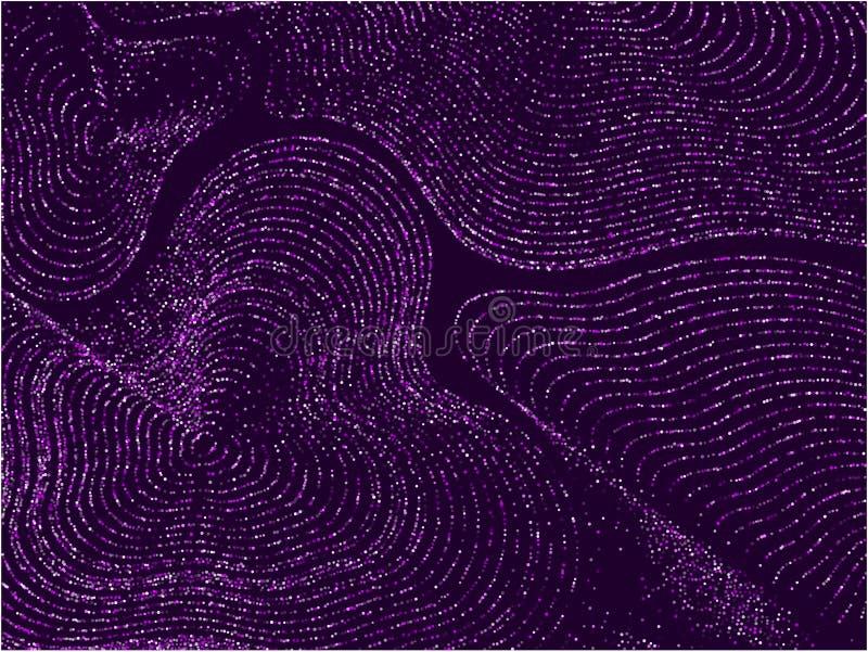 Curves-stipplc-015 illustration de vecteur