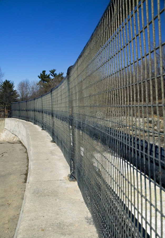 Download Curving Fence Royalty Free Stock Photo - Image: 2597795