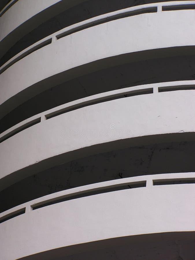 curvy κεκλιμένες ράμπες στοκ φωτογραφία με δικαίωμα ελεύθερης χρήσης