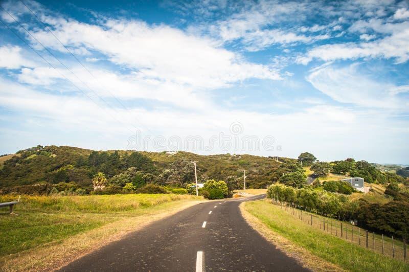 curvy δρόμος στοκ εικόνα