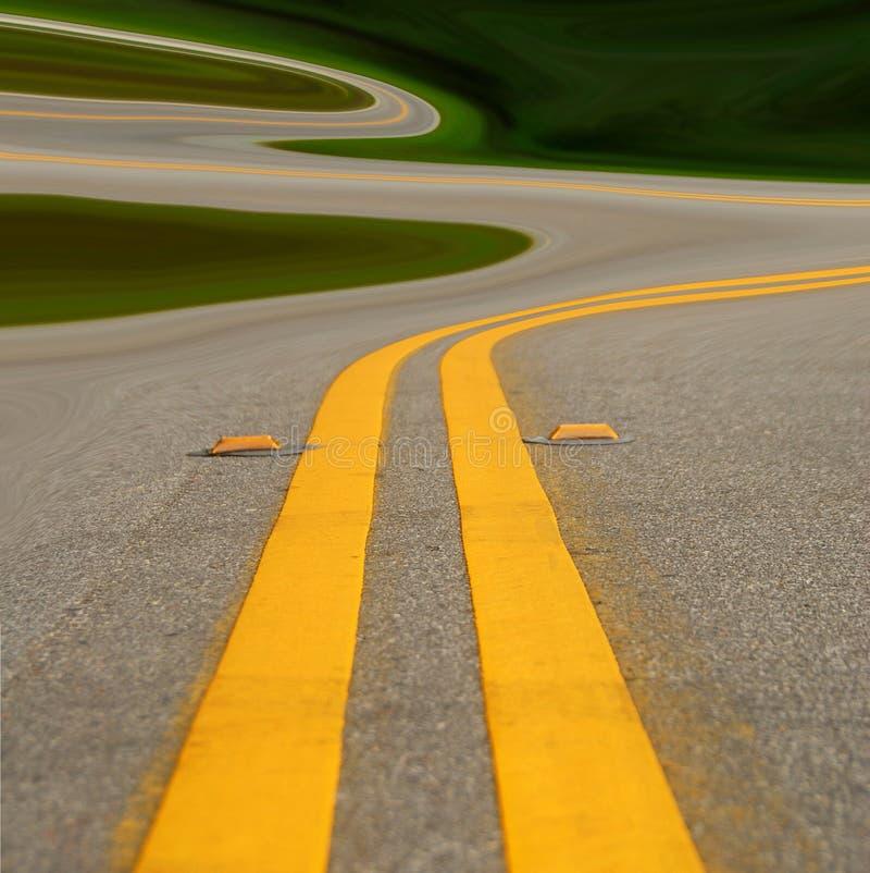 curvy дорога очень стоковые фото