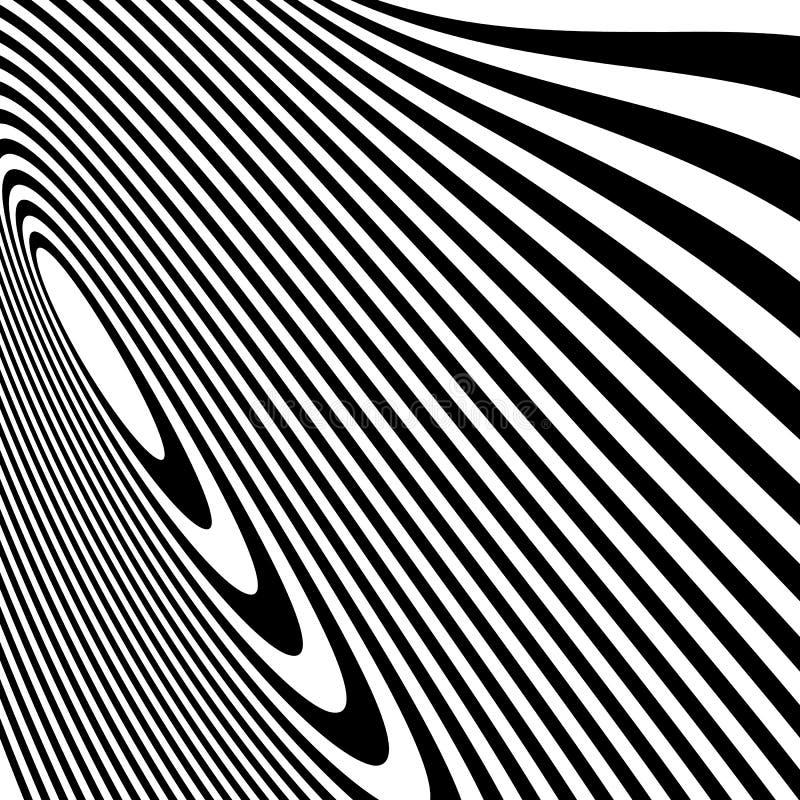 Download Curvy скачками динамические линии абстрактная геометрическая картина Иллюстрация вектора - иллюстрации насчитывающей бесцветно, головокружение: 81810653