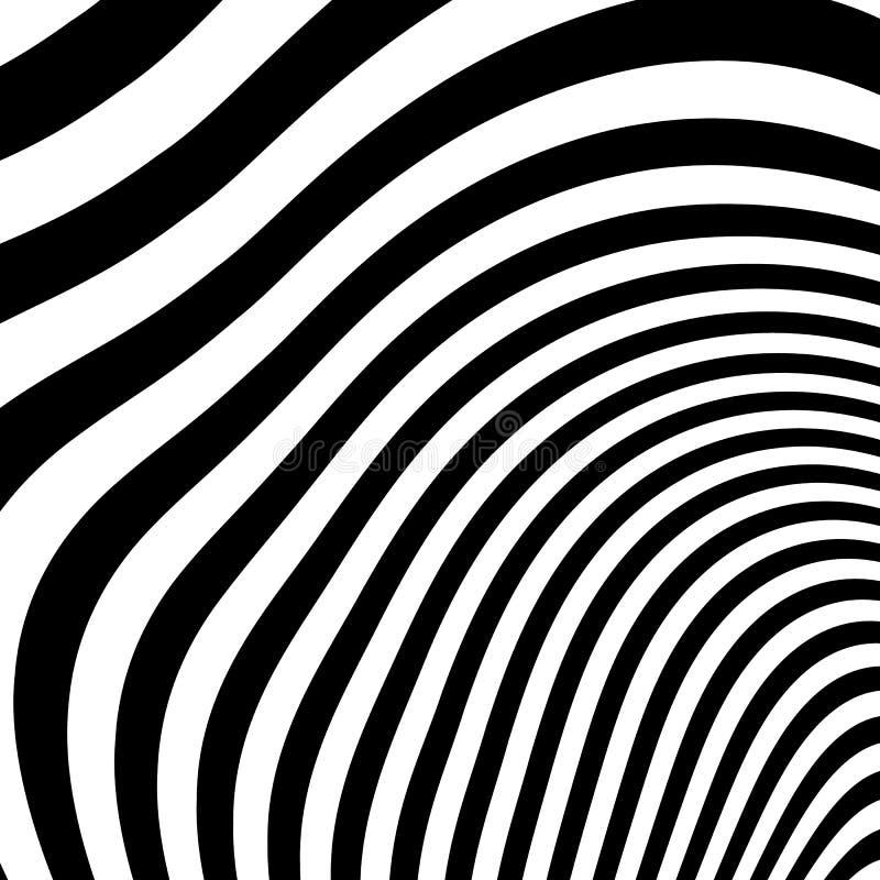 Download Curvy скачками динамические линии абстрактная геометрическая картина Иллюстрация вектора - иллюстрации насчитывающей оптически, свободно: 81810662