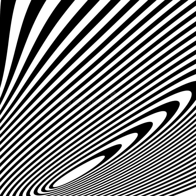 Download Curvy скачками динамические линии абстрактная геометрическая картина Иллюстрация вектора - иллюстрации насчитывающей mesmerize, иллюзорно: 81810677