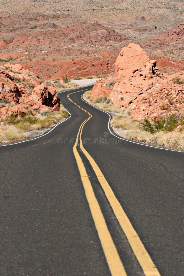 Free Curvy Desert Road Stock Photos - 1262013