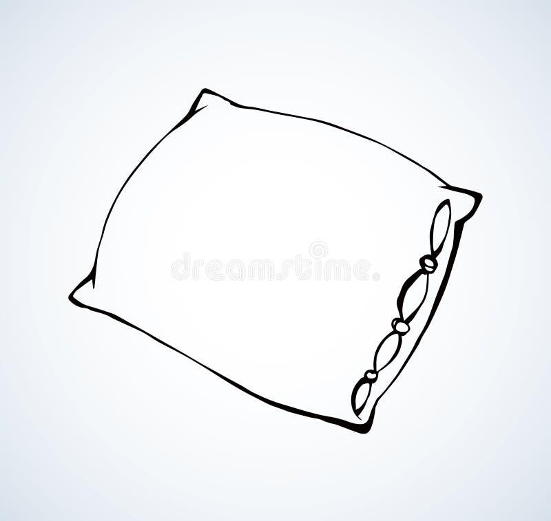 cuscino Illustrazione di vettore illustrazione vettoriale
