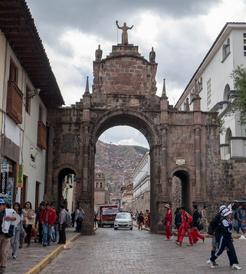 cusco Перу стоковые фотографии rf