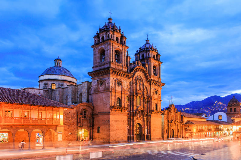 cusco Перу стоковая фотография