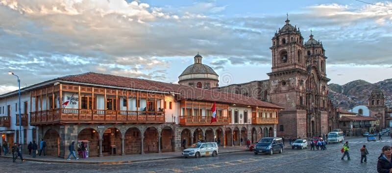 Cusco arkivbild