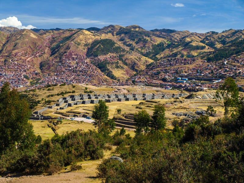 Cusco et Sacsayhuaman photos libres de droits