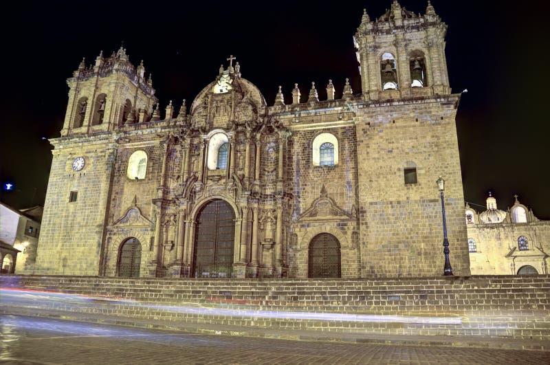 Cusco katedra, Peru obrazy royalty free