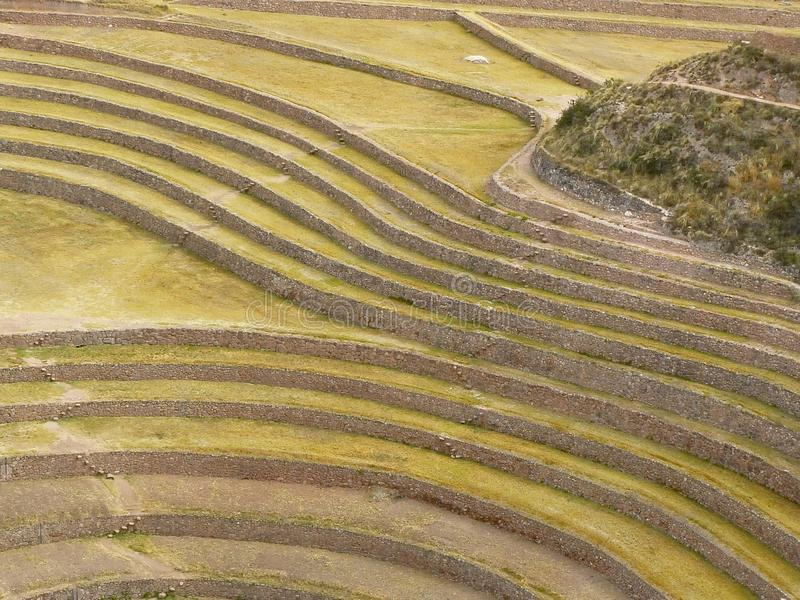 cusco moray Περού στοκ εικόνες