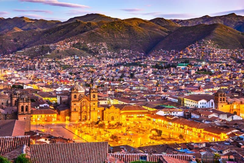 Cusco, Pérou - Plaza de Armas photos stock