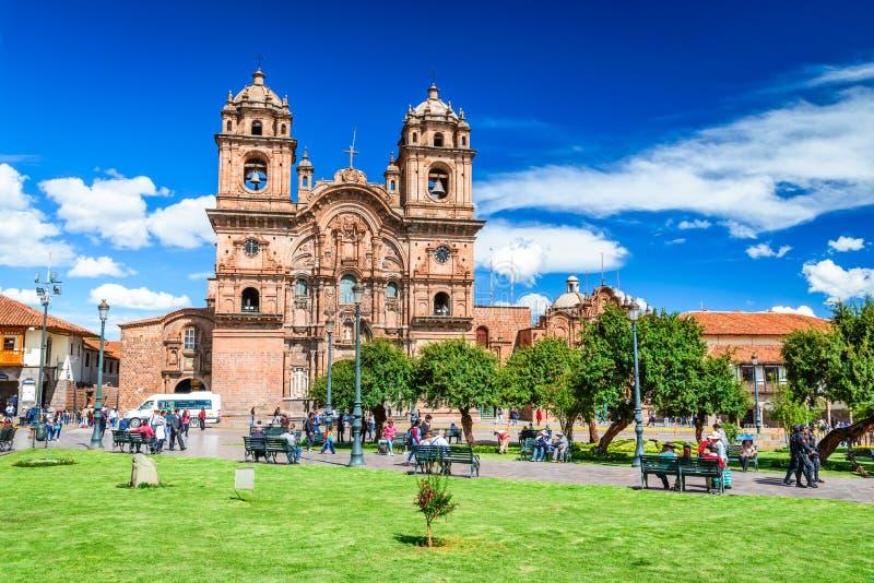 Cusco, Pérou - Plaza de Armas images stock