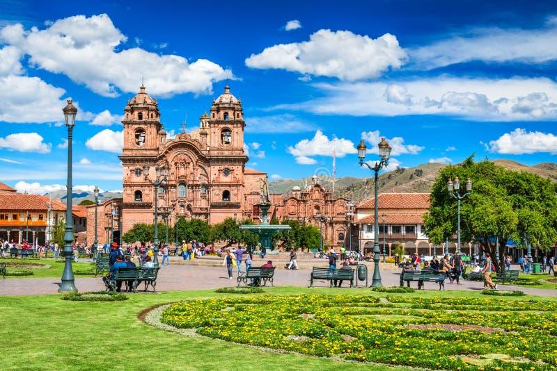 Cusco, Pérou - Plaza de Armas images libres de droits