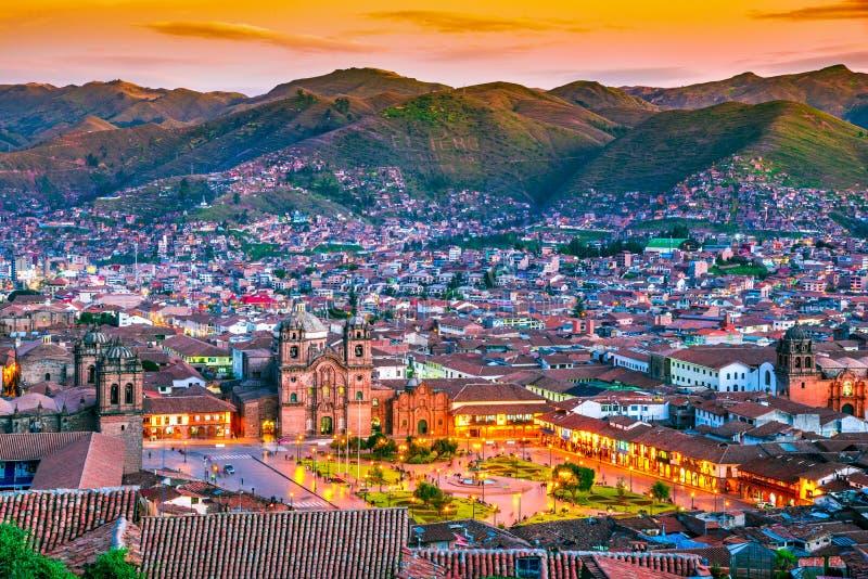 Cusco, Pérou - Plaza de Armas photos libres de droits