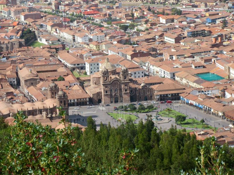 Cusco, Perù immagini stock libere da diritti