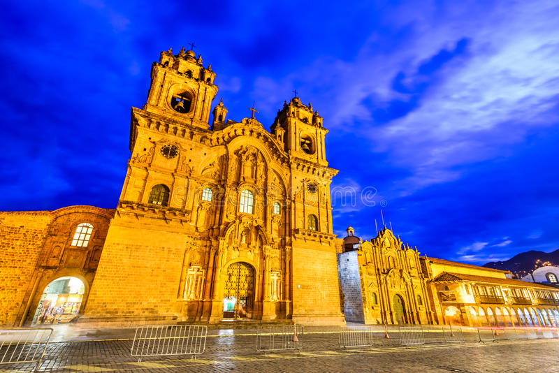 Cusco, Perú - Plaza de Armas foto de archivo libre de regalías