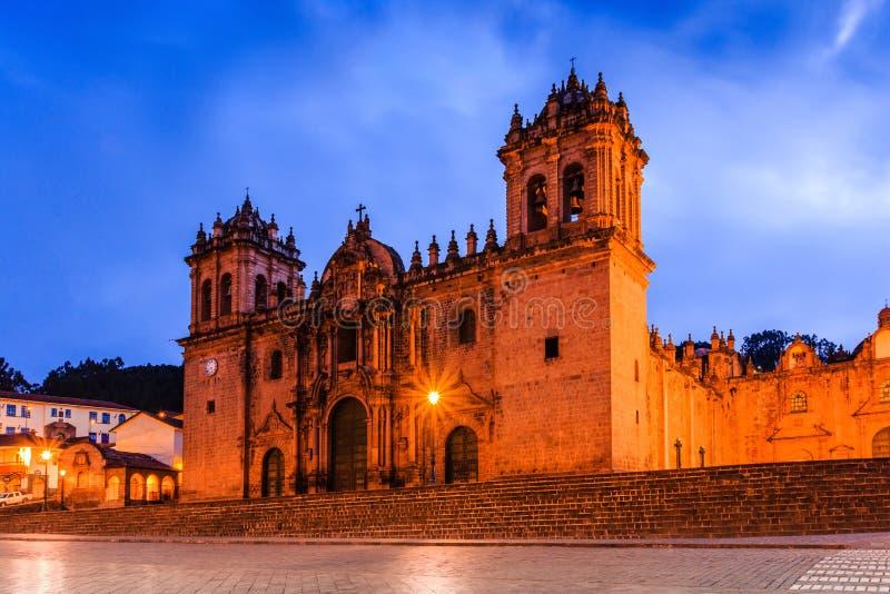cusco Peru obrazy stock