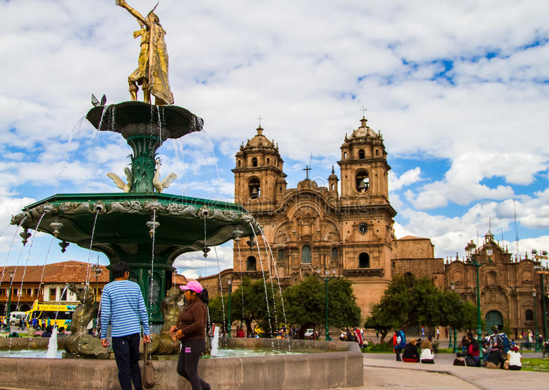 cusco Peru obraz royalty free