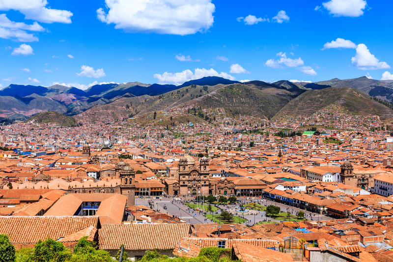cusco Peru zdjęcie royalty free