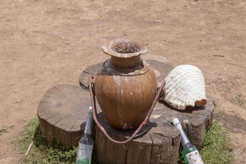 Cusco, peru, coca ceremony. Herbal, green, artemisia, energy, native, american, natural, pagan, healing, smudging, shaman, palo, santo, ritual, wood, plant royalty free stock photography
