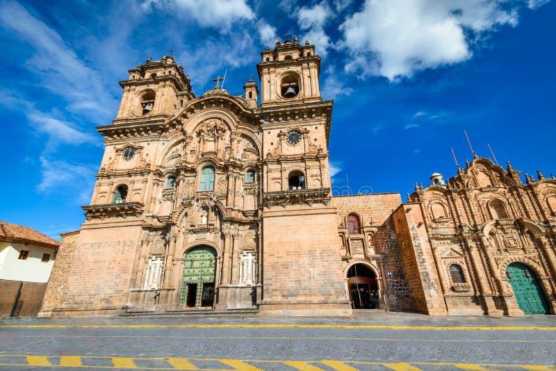 Cusco, Peru - Plaza de Armas stockfoto