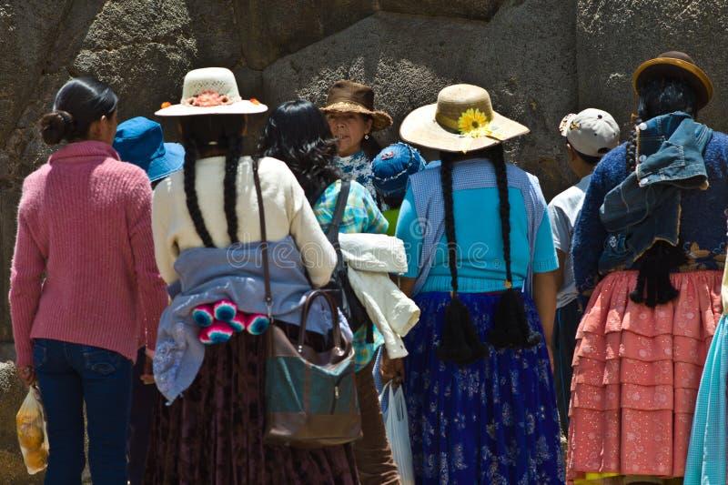 cusco Peru sacsayhuaman zdjęcie stock