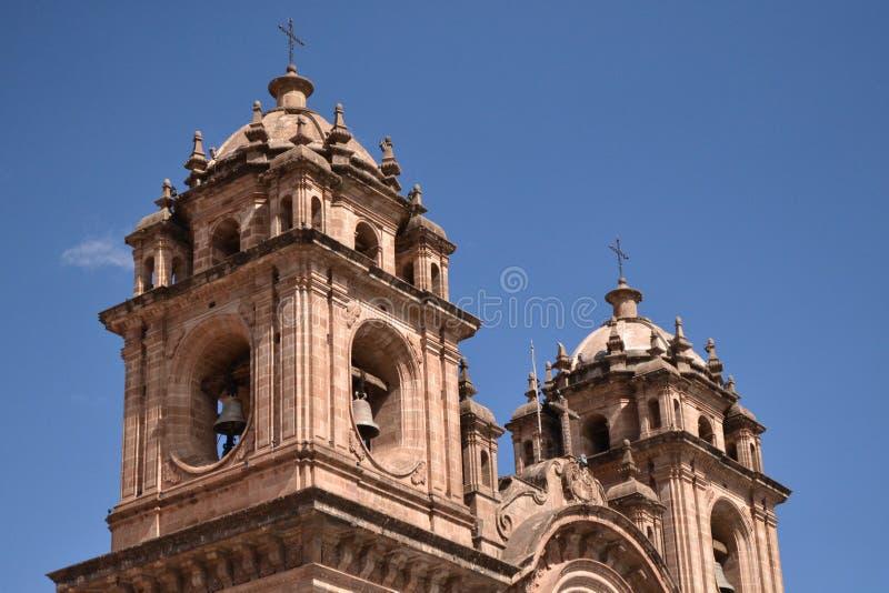 Cusco& x27; s kościół zdjęcia royalty free