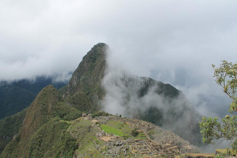 Cusco van Machu Picchu van Incaruïnes royalty-vrije stock afbeelding