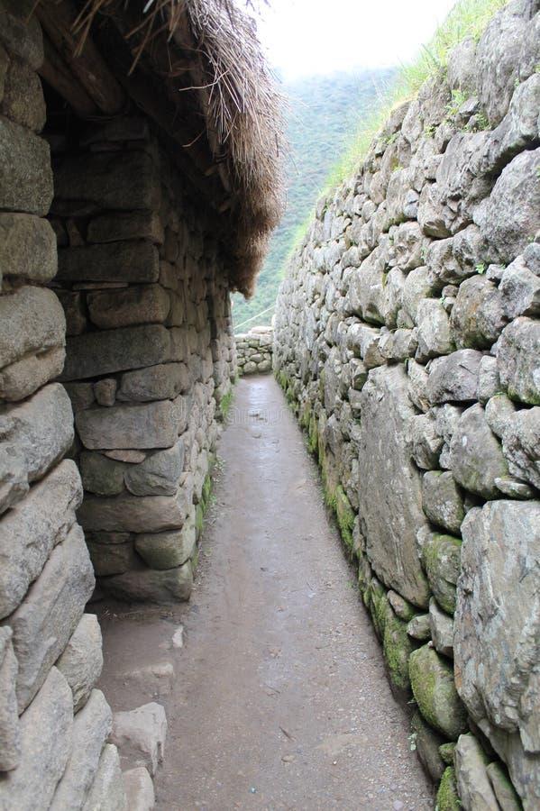 Cusco van Machu Picchu van Incaruïnes royalty-vrije stock fotografie